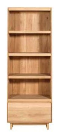 1 Drawer Book Rack