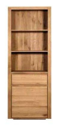 1 Door And 1 Drawer Book Rack