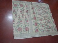 Exquisite Kantha Stitch Saree