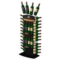 Floor Retail Bottle Display Stand
