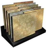 Metal Showroom Tile Display Stand