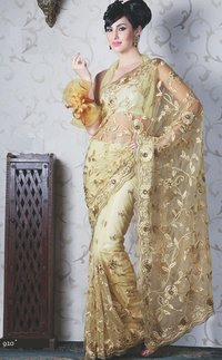 Party Wear Stone Worked Sarees