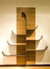 Pretty Wooden Fir Shelf
