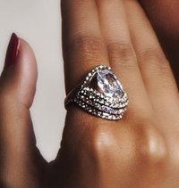 American Diamond Ring