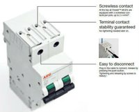 AEG Screwless Miniature Circuit Breakers (MCB)