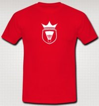 Red Round Neck T-Shirt