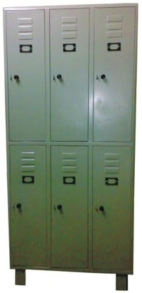 6 Compartment Locker Cabinet