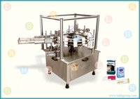 Automatic Rotary Indexing Folding Carton Packing Machine