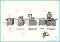 Automatic Vial Filling Line