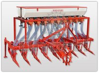Tractor Operated Automatic Seed Cum Fertilizer Drill (9 Teeth – 18 Pipe 63 Inch)