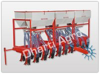 Tractor Operated Automatic Seed Cum Fertilizer Drill (19 Teeth – 38 Pipe)