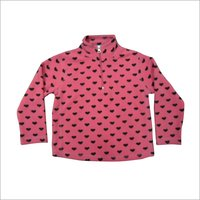 Girls Pollar Fleece Fancy Top