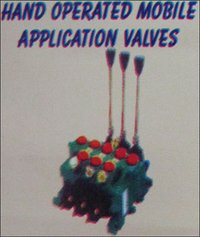 Hand Operated Mobile Application Valves