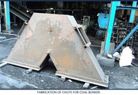 Fabrication Of Chute For Coal Bunker Service