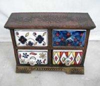 Wooden Ceramic Drawer