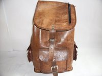 Leather School Bag