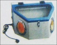 Sand Blasting Machine With Two Pen
