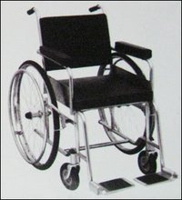 Non Folding Invalid Wheelchair - Ue 038