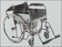Folding Commode Invalid Wheelchair - Ue 041