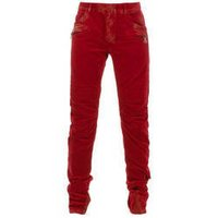 Red Cotton Trouser