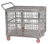 Ss Cage Trolley Shipper Trolley