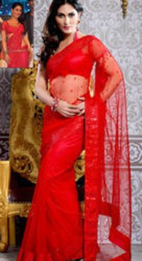 Bollywood Net Saree With Blouse