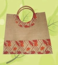 Round Cane Shopper Bag