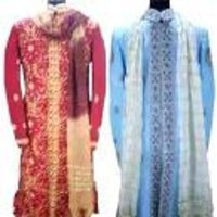Colourful Designer Groom Sherwani