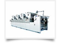 Non Woven D-Cut Bag Printing Machine