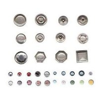 Pearl Ring Snap Buttons