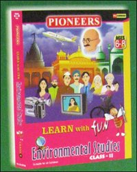 Learn With Fun Evs Class - Ii Cd Rom