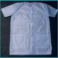 Disposable Half Sleeve Lab Coat