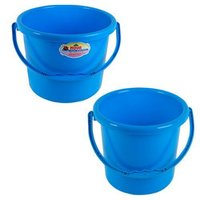 Durable Plastic Buckets With Handles