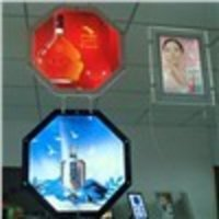 Advertising LED Illuminated Crystal Sign Display Board