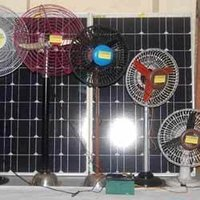 Ac And Dc Solar Fans