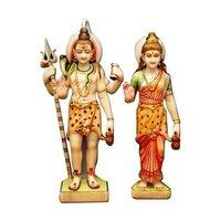 Lord Shiva Parvati Statues