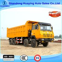 O'long 8x4 Shacman Tipper Truck