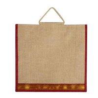 Designer Jute Shopping Bag