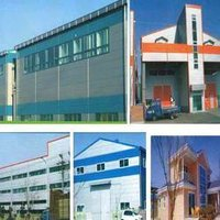 Continuous Puff Sandwich Panel
