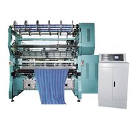 Digital Controlled Wrap Knitting Machine