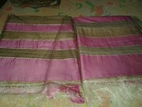 Plain Silk Saree With Border