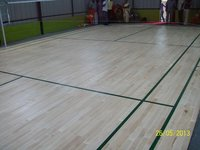 Wooden Cushioned Indoor Badminton Floor