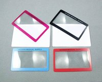 Zoom-Line Name Card Magnifier