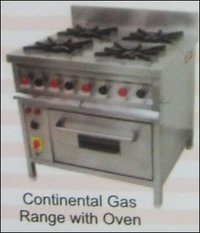 Continental Gas Range With Oven