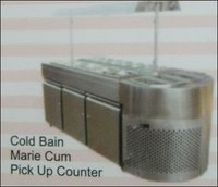 Cold Bain Marie Cum Pick Up Counter