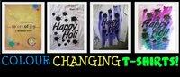 Fancy Colour Changing T-Shirt