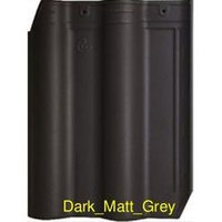 Dark Matt Grey Tile