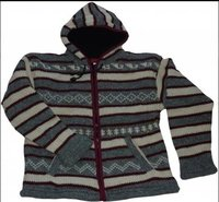 Hand Knitted Woolen Jacket