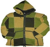 Designer Hand Knitted Woolen Jacket