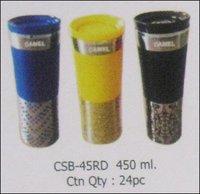 High Vacuum Glass Designer Sports Bottles
